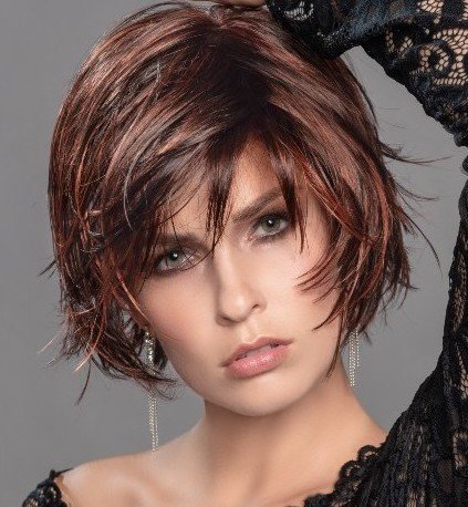 ECHO is a short textured style wig by Ellen Wille.