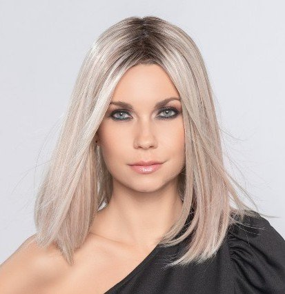 DRIVE is a sleek & classy shoulder length bob by wig designer Ellen Wille.