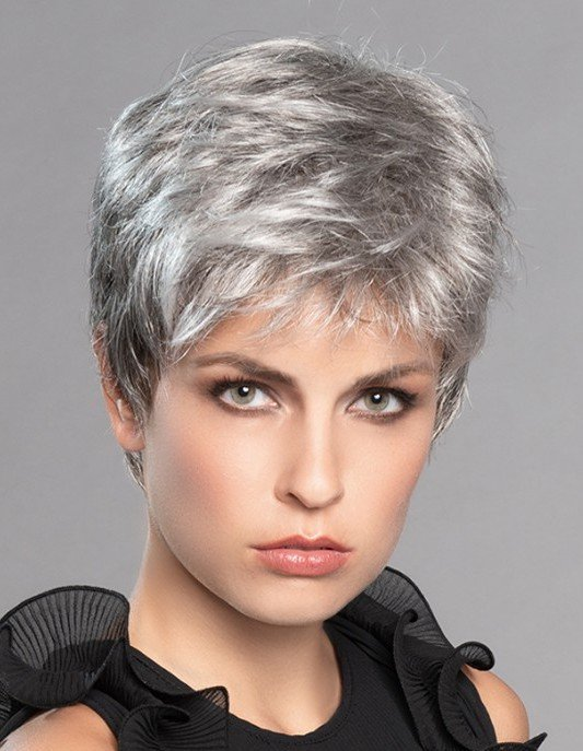 Debbie is a pixie style wig with wispy fringe and all-over layers.